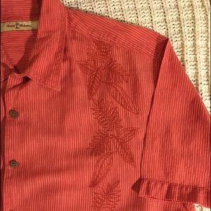 Tommy Bahama Button down shirt.  XL